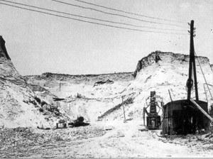 Sandgrube 1962