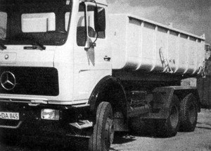 LKW und Container 1973