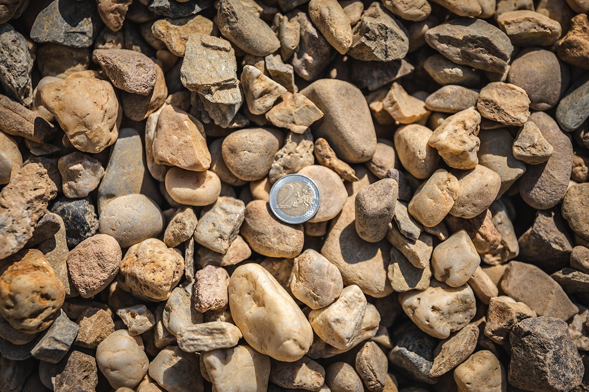 Gewaschene Körnung 16 - 32 mm