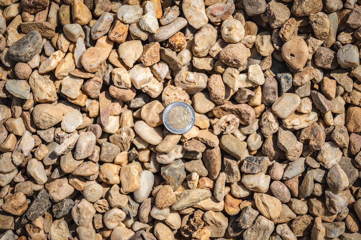 Gewaschene Körnung 8 - 16 mm