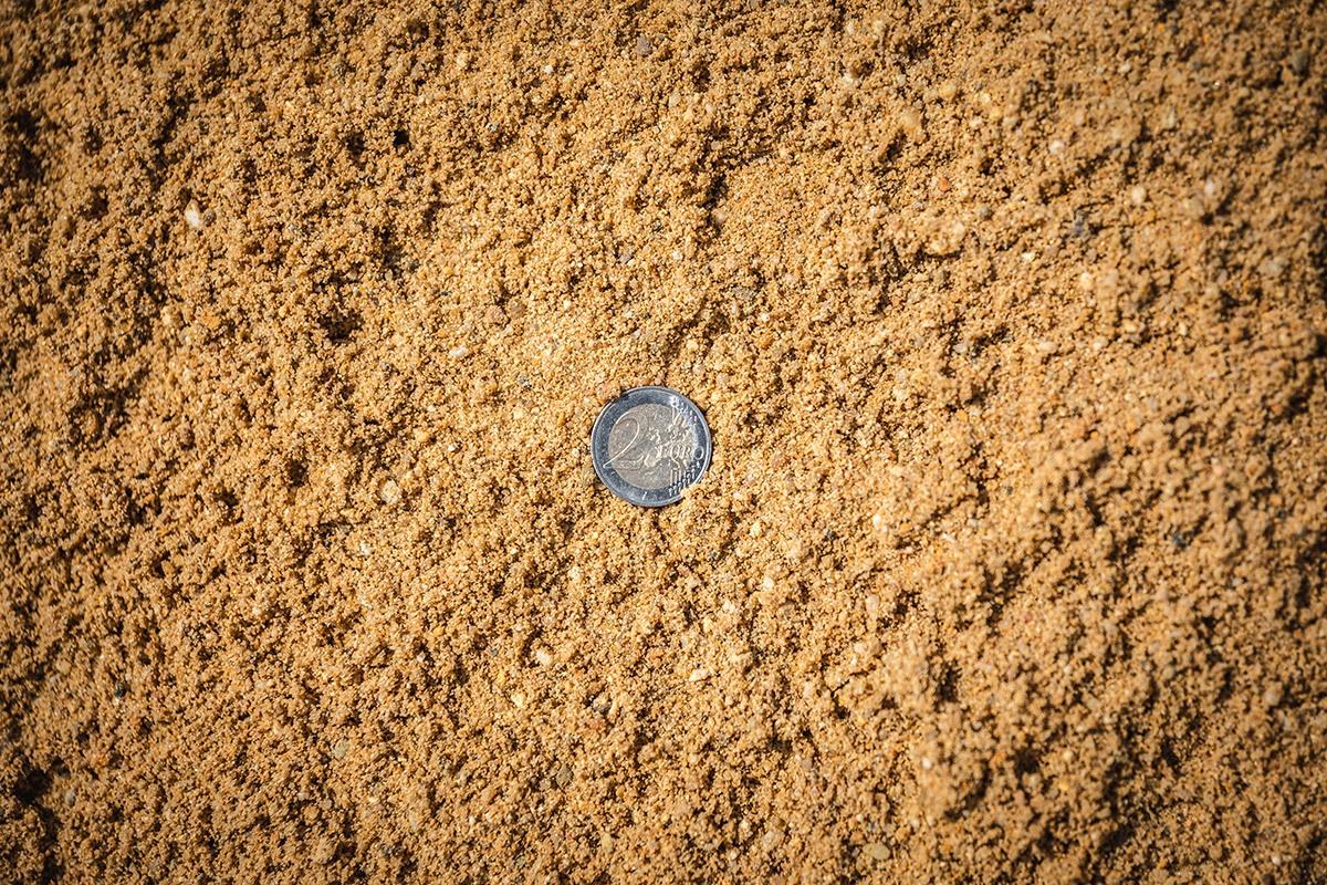 Gewaschener Estrichsand 0 - 8 mm
