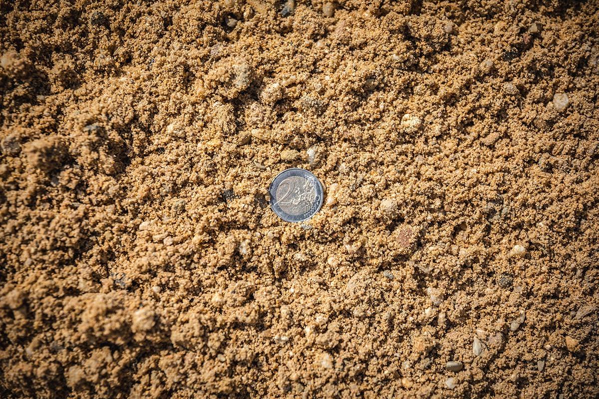 Gewaschener Kies 0 - 16 mm